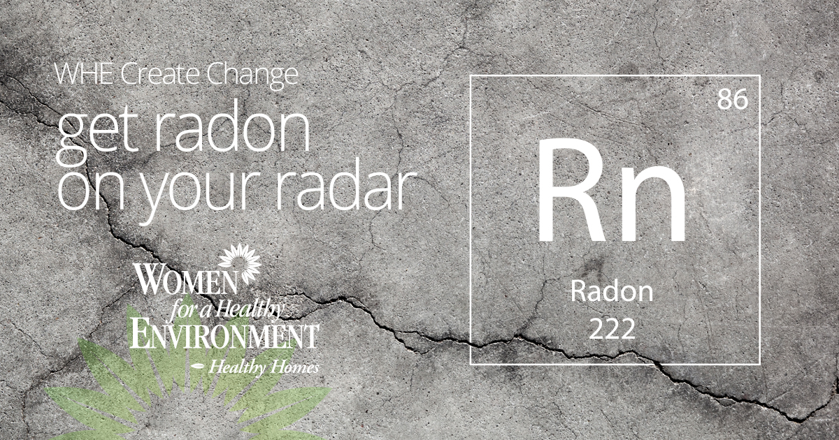 WHE Create Change: Get Radon on your Radar (Featured Image)