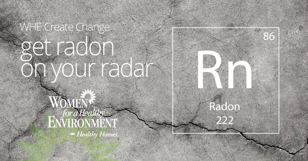 WHE Create Change: Get Radon on your Radar (Featured Image)